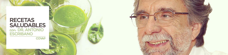 Banner recetas saludables Doctor Antonio Escribano Zafra