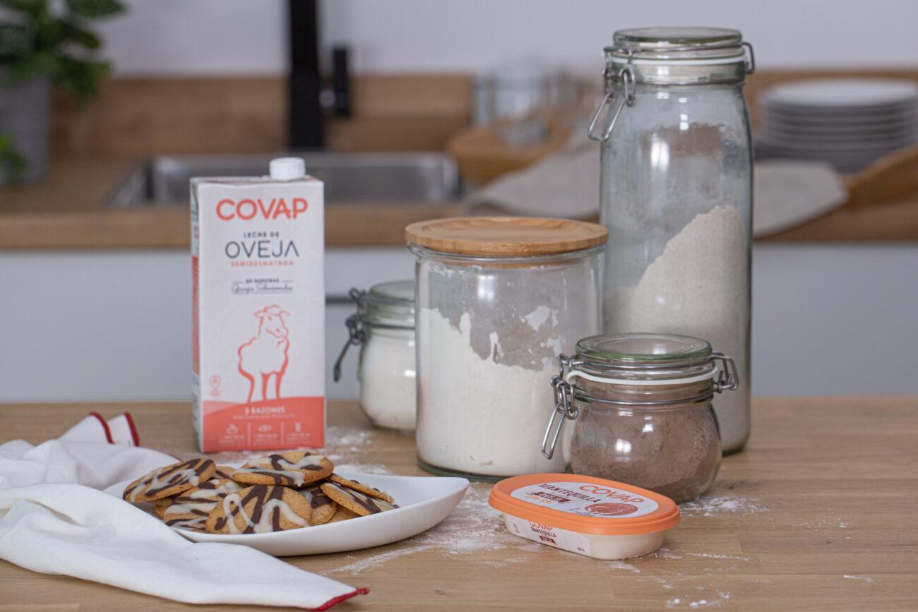 Galletas de mantequilla de oveja COVAP fáciles y rápidas